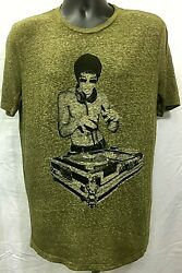 Bruce Lee DJ Stark Official Licensed T-Shirt Tee Various Colors Various Sizes  $18.99