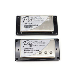 Probucker Alnico Pickups With Pro Wiring Harness Potsand3 Way Switches Chrome