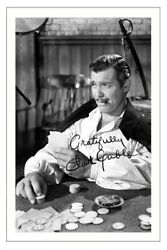 Clark Gable Signed Autograph Photo Print Gone With The Wind