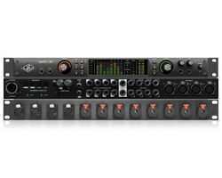 Package Of Universal Audio Apollo X8 And Mogami Rack Mic/line Input Panel