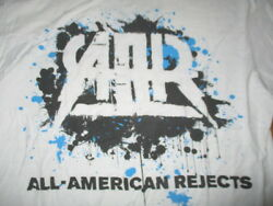2012 The All-american Rejects Concert Tour Med T-shirt White