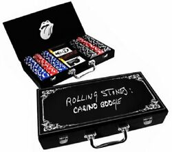 Rolling Stones Casino Boogie Poker Set Exile On Main Street Limited Edition New