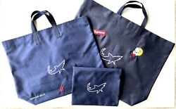 3 Pcs Mako Logo Embroidered Bags Document Bag Towels And Water Toys. Waterproof.
