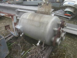70 Gallon Stainless Steel Vessel, Vertical, 15 Psi @ 100 F