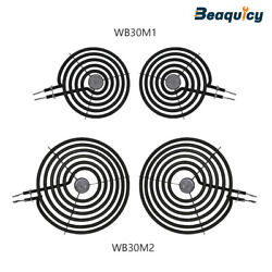 Electric Range Burner Element Kit 2 Pack Wb30m1and 2 Pack Wb30m2 For Ge,whirlpool