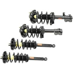 Set-ts171418-c Monroe Shock Absorber And Strut Assemblies Set Of 4 New Lh And Rh