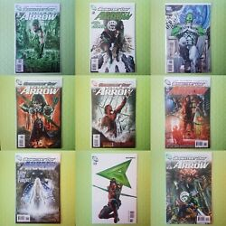 Green Arrow Brightest Day 1-8 And 10 Set Of 9 Dc Comics 2010