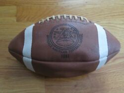 Rare Approved 1981 American Football League Afl Football