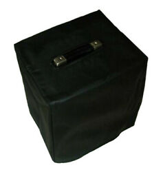 Crate Bx-15 Combo Amp - Black Water Resistant Vinyl Cover W/piping Crat092