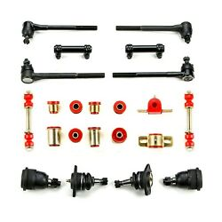 Red Poly Front Suspension Rebuild Kit For 1968 - 70 Chevrolet Chevelle El Camino