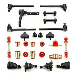 Red Poly Front Suspension Master Kit Fits 1968 - 70 Chevrolet Chevelle El Camino