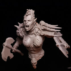 1/12 Model Kits Female Orc Bust Resin Gk Unpainted Unassembled Unassembled
