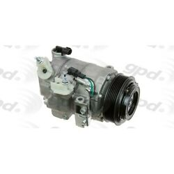 6512997 Gpd New A/c Ac Compressor With Clutch For Ford Explorer Taurus Lincoln