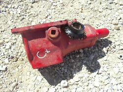 Farmall C Super C Tractor Belt Pulley Drive Assembly W/ Gear + Cover