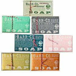 Barr Co Soap Shop Bar Soap 7 Multiple Scent Gift Box by k. hall designs