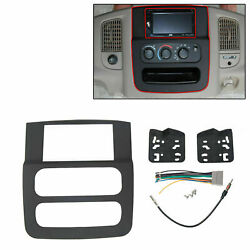 Stereo Radio Double Din Install Dash Kit Fits 2002 2003 2004 2005 Dodge Ram