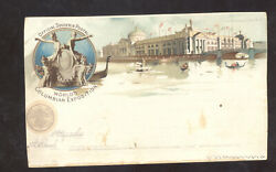 1893 World's Columbian Exposition Vintage Postcard The Agricultural Building