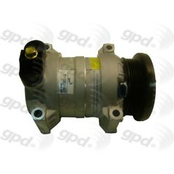 6511338 Gpd New A/c Ac Compressor For Chevy Olds Express Van Savana With Clutch