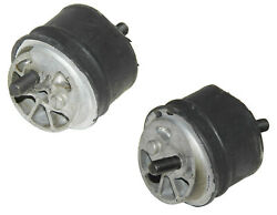 2 Uro Left+right Engine Motor Mounts Support Bushings Mountings For Bmw Manuals