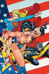 Jim Lee Heroines Of The Dc Universe Giclee On Canvas Signed-le To 25