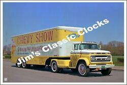 Chevrolet Chevy Show Advertisement Poster-free Us Ship
