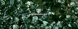 Room Decorated Marble Countertop Dining Table Green Moss Agate Stone Inlay H5611