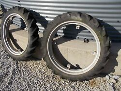 Allis Chalmers G Tractor 7.2 X 30 30 Good Year Tread Tires Tire And Ac Rims Rim