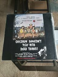 Children Shouldn't Play With Dead Things 1972 Laserdisc