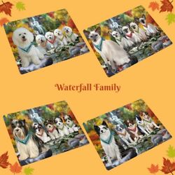 Scenic Waterfall Refrigerator Magnets, Dogs, Cats, Pet Photo Magnet Gifts