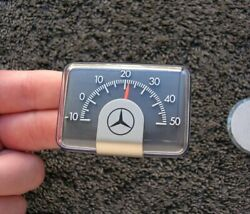 Mercedes Benz Dash Magnet Thermo Thermometer Mb S Se Sl 190 300 500 600 ... Nos