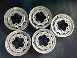 Rb Cng 45j X 15 Wheels In Silver Wide-5 Wheels For Vw Set Of 5