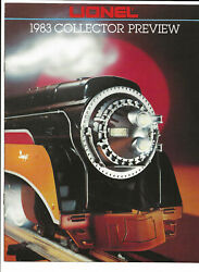 1983 Lionel Trains Collectors Preview Brochure/pamphlet-20th Century Limited