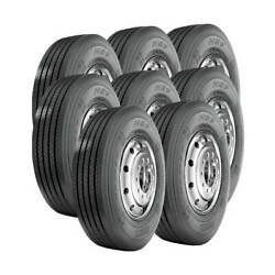 8 Tires 11r24.5 Pirelli H89 Steer 16 Ply M 149/146 Commercial Truck