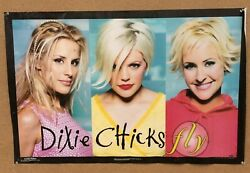 Vintage 1999 Dixie Chicks Fly Poster 22 X 34 Inches 465 Scorpio Posters