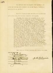 Thomas A. Edison - Corporate Minutes Signed 03/16/1922 With Co-signers