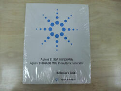 Agilent 16700b Series / 16900 Series Installation Guide / 81110a Reference Guide