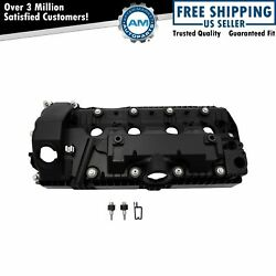 Engine Valve Cover W/ Gasket And Hardware Rh Passenger Side Cylinders 1-4 For Bmw