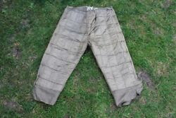 Ww2 German Wehrmacht Winter Quilted Thermal Trousers Unterziehhose Vgc For Age