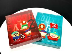 South Park Complete Season Two And Three Dvd Lot Sealed