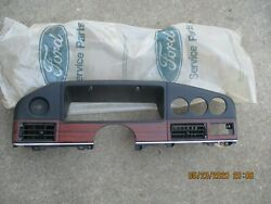 Dash Cover Over Gauge 1986 / 1987 / 1988 Ford Taurus And Fairlane - E6db-54044d70