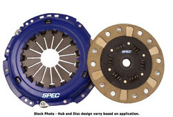 Spec Stage 2+ Single Disc Clutch Kit For 85-87 Dodge Conquest Intercooled Sm523h