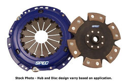 Spec Stage 4 Clutch For 1960-1962 Vw Beetle-type Iii-fastback 1.5l Sv154