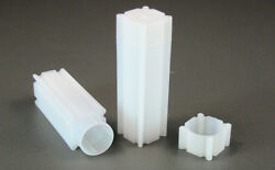 Coinsafe Square Coin Storage Tubes For Dimes 18mm Qty. 5