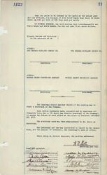 Thomas A. Edison - Corporate Minutes Page Signed 12/1917 With Co-signers