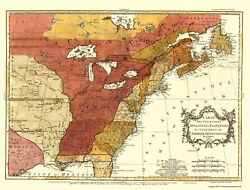 Revolutionary War - French Possessions - Londres 1763 - 23.00 X 30.31