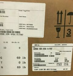 Ach550-vcr-015a-4+f267 Abb 10hp Variable Frequency Drive W/ Bypass