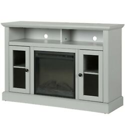 Ameriwood Home Chicago Electric Fireplace Tv Console For Tvs Up To A 50 Gray