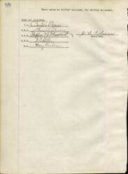 Thomas A. Edison - Corporate Minutes Signed 05/10/1922 With Co-signers