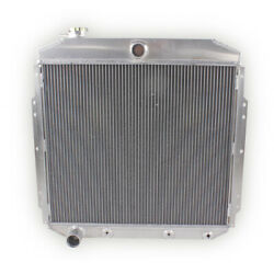 For 1953 1954 1955 1956 Ford F100 Pickup Truck 3 Rows Aluminum Radiator Cc5356