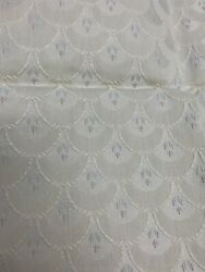 Beige Vintage UPHOLSTERY FABRIC 56 X20